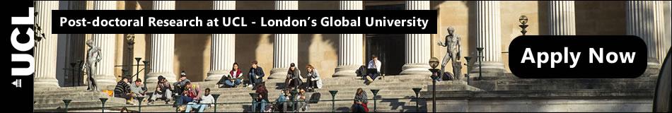 University College London Featured Post Docs